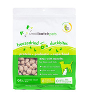 Small Batch Freeze-Dried Duck Treats