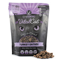 Vital Essentials VitalCat Freeze-Dried Turkey Entree - Mini Nibs
