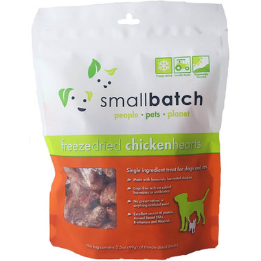 Small Batch Freeze Dried Chicken Heart Treats
