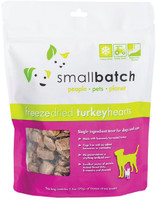 Small Batch Freeze-Dried Turkey Heart Treats