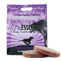 Vital Essentials Dog Frozen Patties Turkey-6 lb