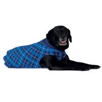 Gold Paw Series Duluth Double Fleece - Blue Plaid