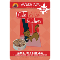 Weruva Cats in the Kitchen 3oz Pouch Mack, Jack and Sam