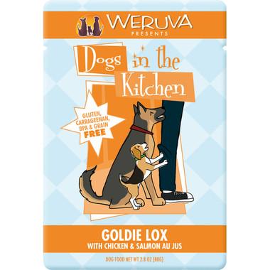 Weruva Dogs in the Kitchen 3oz Pouch Goldie Lox