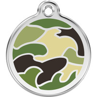 Red Dingo Enamel Camouflage Green