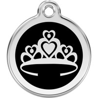 Red Dingo Enamel Crown