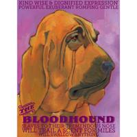 Ursula Dodge Bloodhound Magnet