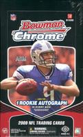 2009 Bowman Chrome Football Hobby Box