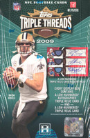 2009 Topps Triple Threads Football Hobby Box