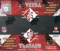 2009 Upper Deck SP Threads Football Hobby Box