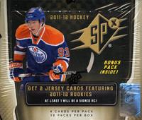 2011/12 Upper Deck SPx Hockey Hobby Box