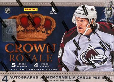 2013/14 Panini Crown Royale Hockey Hobby Box
