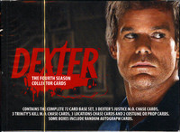 Dexter Season 4 Trading Cards Box