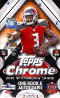 2015 Topps Chrome Football Hobby Box