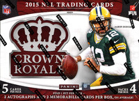 2015 Panini Crown Royale Football Hobby Box