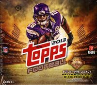 2013 Topps Football Jumbo HTA Box