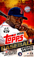 2016 Topps Update Series Baseball Hobby Box