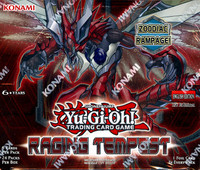 Yugioh Raging Tempest 1st Edition Booster Box