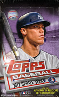 2017 Topps Update Series Baseball Hobby Box