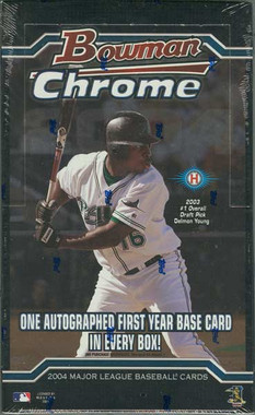 2004 Bowman Chrome Baseball Hobby Box