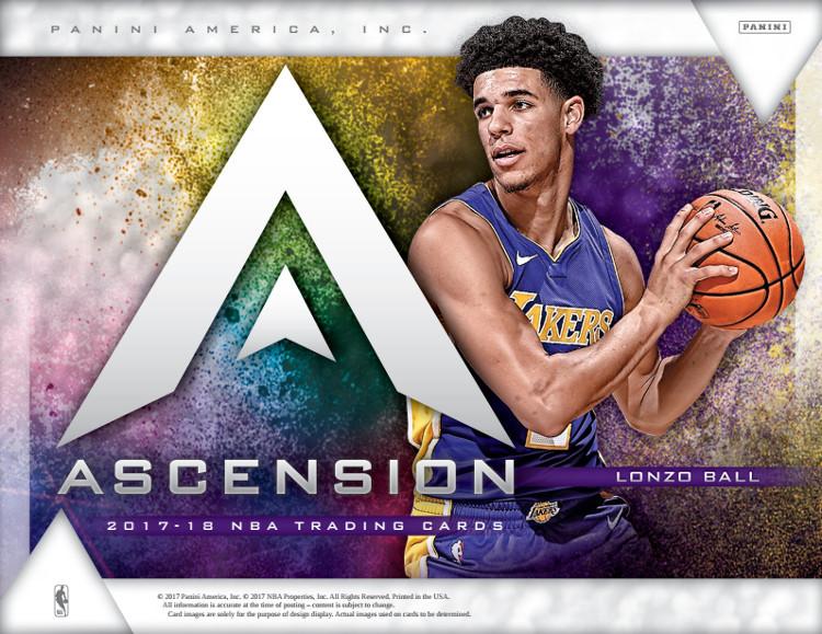 b0839de68b5 2017 18 Panini Ascension Basketball Hobby Box - Dan s Sports Cards ...