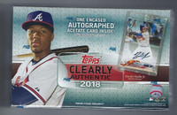 2018 Topps Clearly Authentic Baseball Hobby Box
