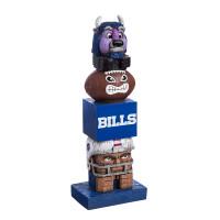 Buffalo Bills Tiki Team Totem Garden Statue