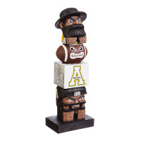 Appalachian State University Tiki Team Totem Garden Statue