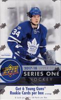 2017/18 Upper Deck Series 1 Hockey Hobby Box Details