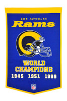 Los Angeles Rams SB Banner
