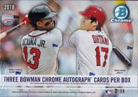 2018 Bowman Chrome Baseball HTA Choice Hobby Box