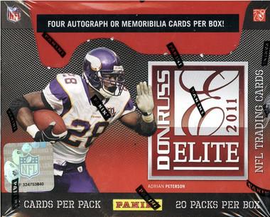 968ca58e1 2011 Donruss Elite Football Hobby Box - Dan's Sports Cards & Games