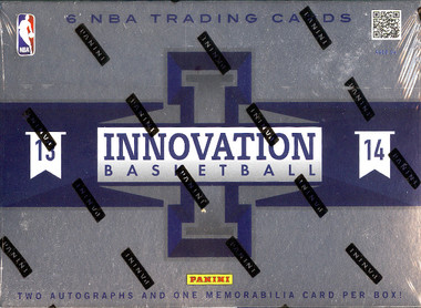 2013/14 Panini Innovation Basketball Hobby Box