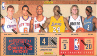 2010/11 Playoff Contenders Patches Basketball Hobby Box
