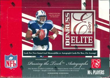 2007 Donruss Elite Football Hobby Box