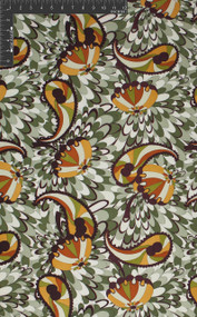 Carousel Spin - 100% Silk Printed Double Jersey Fabric 120 GSM - HUA/022-J