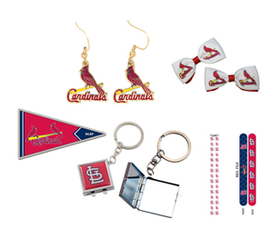 St. Louis Cardinals Game Day Gift Set (6 Items)