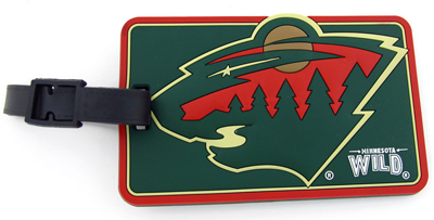 Minnesota Wild Luggage Tag