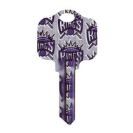 Sacramento Kings Kwikset KW1 House Key