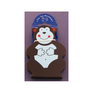 Magnetic Wooden Gorilla Magnet by The Toy Workshop