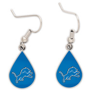 Detroit Lions Tear Drop Earrings