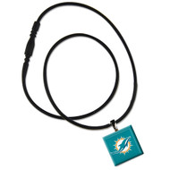 Miami Dolphins Lifetile Necklace