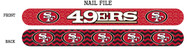 San Francisco 49ers Nail File