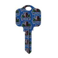 Minnesota Timberwolves Kwikset KW1 House Key