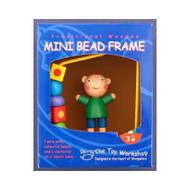 Wooden Mini Boy Bead Frame by The Toy Workshop