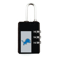 Detroit Lions Large Luggage Security Lock TSA Approved