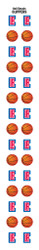 Los Angeles Clippers Nail Sticker Decals