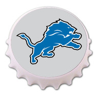 Detroit Lions Bottle Cap Magnet Bottle Opener