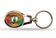 Boston Celtics Oval Keychain
