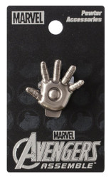 Iron Man Hand Pewter Lapel Pin